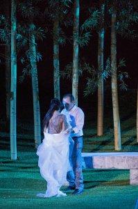 Madama Butterfly_Asmik Grigorian(Cio Cio San),Angelo Villari(Pinkerton)©Yasuko Kageyama-Opera Roma-Caracalla 2015_8576