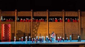 Prove della Turandot_Iréne Theorin(Turandot),Jorge De Leon(Calaf)©Yasuko Kageyama-Opera di Roma_Caracalla 2015_9617