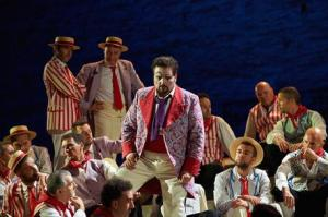 "(ANSA) - MACERATA, 17 LUG - Musica: Macerata Opera Festival, ""Pagliacci"". +++ NO SALES, EDITORIAL USE ONLY +++"
